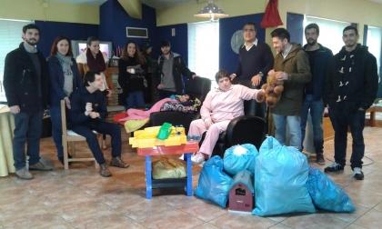 Monção: JS ofereceu brinquedos às crianças da APPACDM