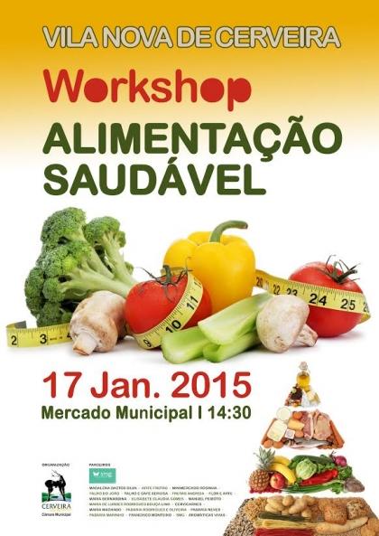 Cerveira: Mercado Municipal recebe workshop sobre Alimentação Saudável no dia 17