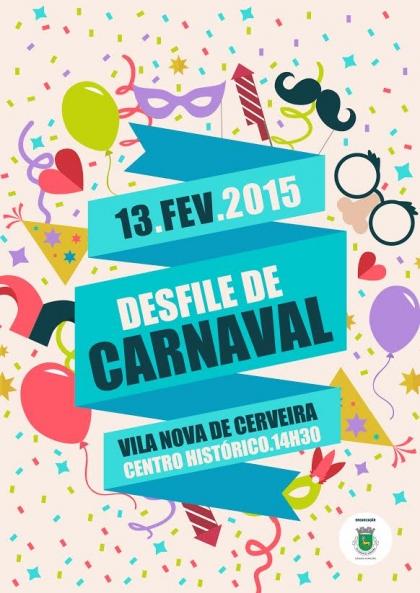 Cerveira: Desfile de Carnaval dos estabelecimentos de ensino e Unisénior marcado para dia 13