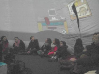 Paredes de Coura: Dezenas de crianças já passaram pelo planetário instalado no centro da vila