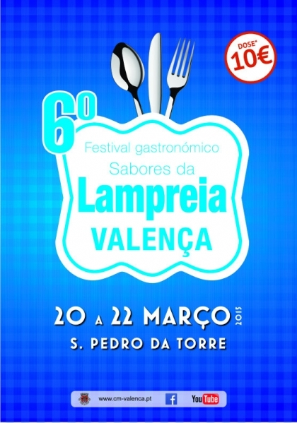 Valença: Cerca de cinco mil apreciadores esperados no festival 'Sabores da Lampreia'