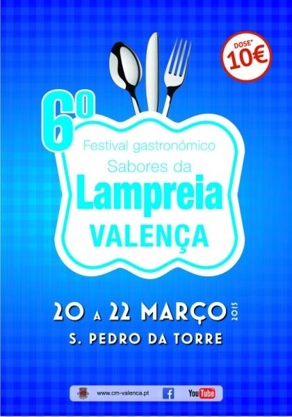 Valença: Festival 'Sabores da Lampreia' termina este domingo