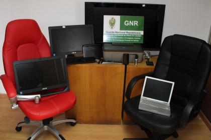 Melgaço: GNR detém três suspeitos de vários roubos no concelho