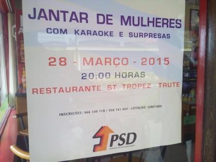 Monção: PSD realiza este sábado um jantar dedicado à mulher