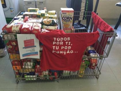 Monção: JS conseguiu recolher mais de meia tonelada de alimentos
