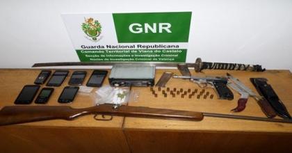Valença: GNR deteve dois homens suspeitos de tráfico de droga