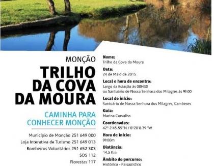 Monção: Câmara promove caminhada pelo trilho da Cova da Moura no próximo domingo