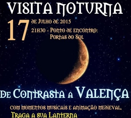 Valença: Câmara promove visita noturna à Fortaleza esta sexta-feira