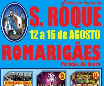 Paredes de Coura: Romarigães recebe festas de São Roque entre 12 e 16 de Agosto
