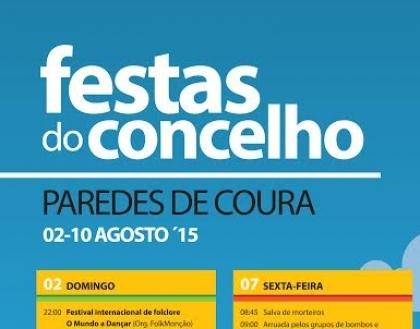 Paredes de Coura: Festas do Concelho começam este domingo
