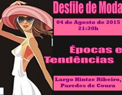 Paredes de Coura: Escadório do Largo Hintze Ribeiro recebe desfile de moda esta terça-feira