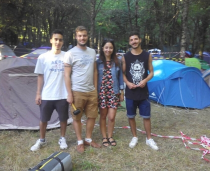 Paredes de Coura: Dezenas de festivaleiros já montaram tenda no Taboão