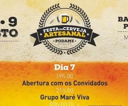 Monção: Festa da Cerveja Artesanal começa esta sexta-feira