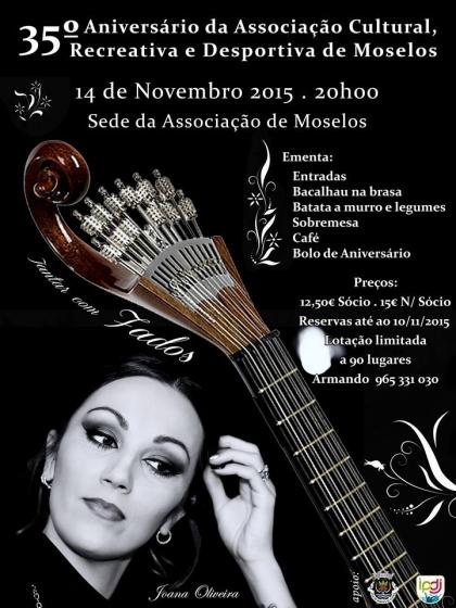 Paredes de Coura: Associação Cultural de Moselos celebra 35 anos de vida no dia 14 novembro