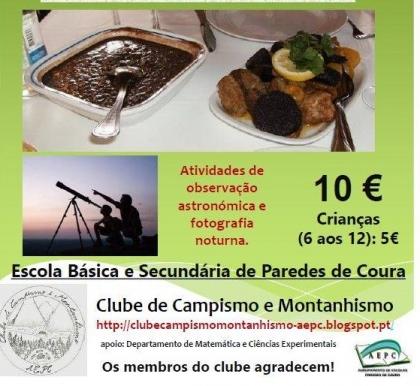 Paredes de Coura: Escola Básica e Secundária recebe jantar solidário no dia 13 de novembro