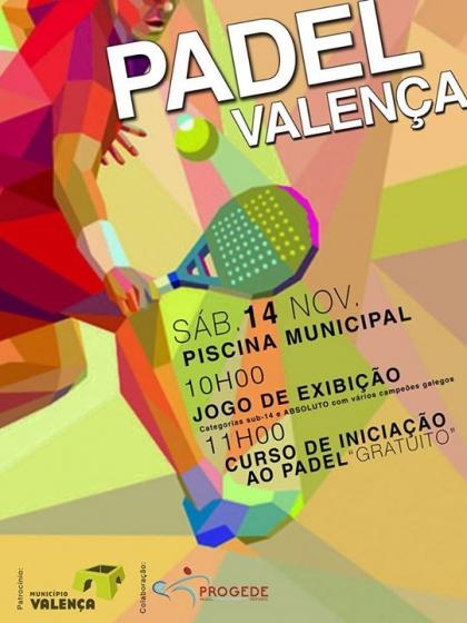 Valença: Piscina Municipal vai receber iniciativa dedicada ao Padel este sábado