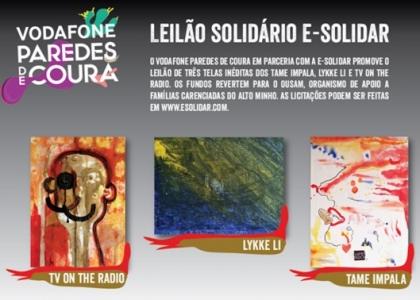 Música: Vodafone Paredes de Coura promove leilão solidário
