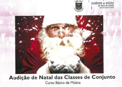 Paredes de Coura: Centro Cultural recebe Audição de Natal esta sexta-feira