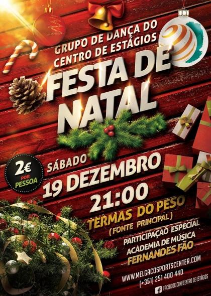 Melgaço: Termas do Peso recebem Festa de Natal no próximo sábado