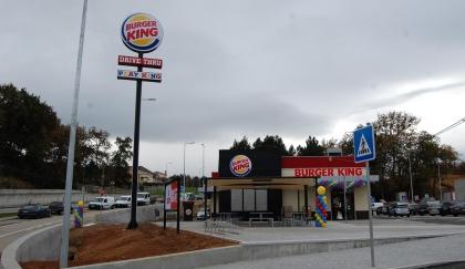 Monção: Burger King já abriu - Loja cria 17 novos postos de trabalho