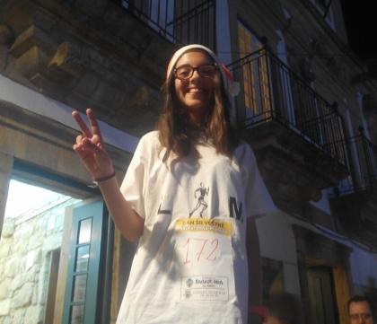 Monção: Menina de 13 anos conquistou o 'ouro' de S. Silvestre