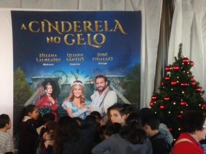 Monção: Crianças da CPCJ assistiram à 'Cinderela no Gelo'