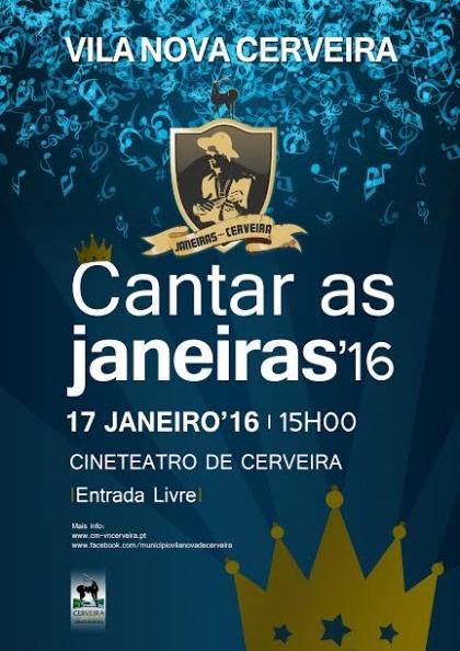 Cerveira: Cineteatro recebe VII edição do 'Cantar as Janeiras' este domingo
