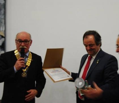 Monção: Anselmo Mendes distinguido pelo Rotary Club