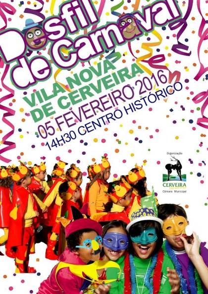 Cerveira: Carnaval sai à rua no próximo dia 5 de fevereiro
