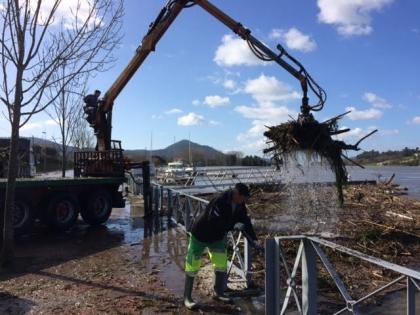 Cerveira: Serviços Municipais removem destroços deixados pelo temporal