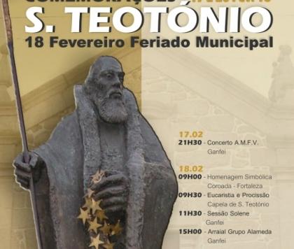 Valença: Comemorações de São Teotónio começam esta quarta-feira