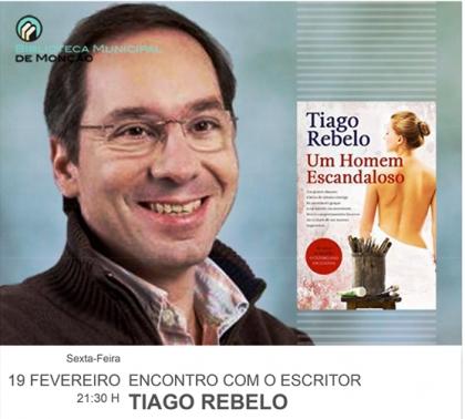 Monção: Biblioteca Municipal recebe Mário Rebelo esta sexta-feira