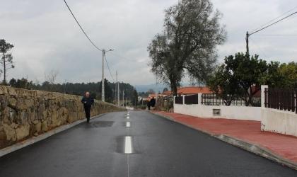 Monção: Obras de alargamento e beneficiação da Rua de Rodas estão concluídas