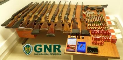 Monção: GNR detém indivíduo por posse ilegal de armas