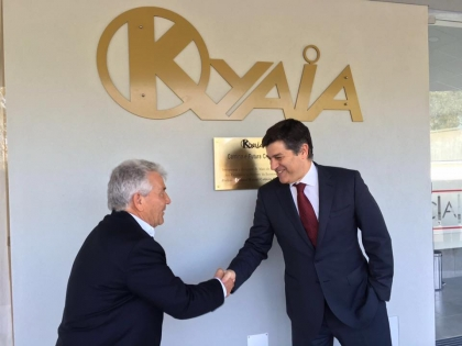Paredes de Coura: Ministro diz que Kyaia 'é exemplo a seguir ao levar Portugal a todo o mundo'