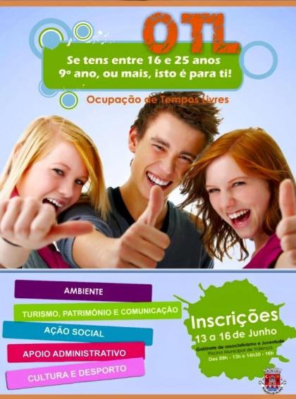 Valença: Câmara promove ocupação de tempos livres para jovens durante o verão