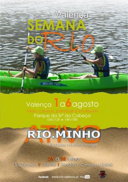 Valença: Parque Srª da Cabeça recebe 'Semana do Rio' entre 1 e 6 de agosto