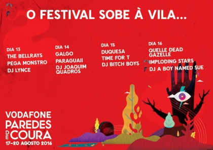 Paredes de Coura: Festival sobe à vila entre 13 e 16 de agosto