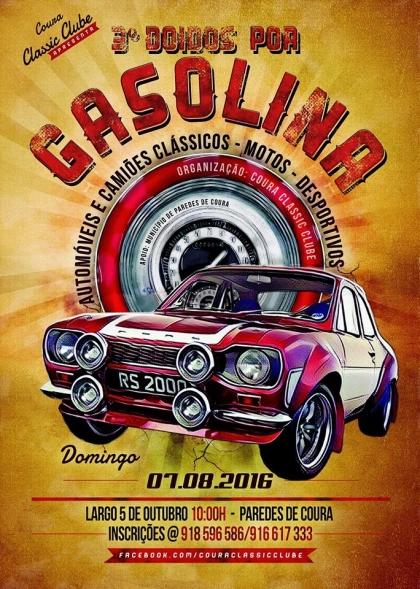 Paredes de Coura: III edição do 'Doidos por Gasolina' realiza-se a 7 de agosto