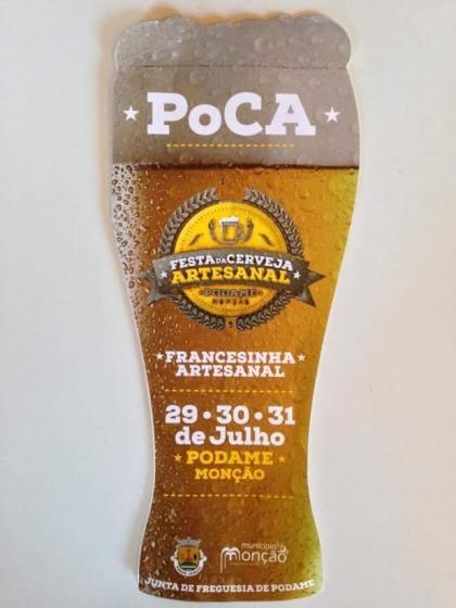 Monção/Podame: Festa da Cerveja Artesanal começa esta sexta-feira