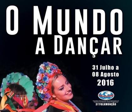 Monção: Praça Deu-la-Deu acolhe 'O Mundo a Dançar' esta terça-feira