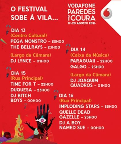 Paredes de Coura: Festival sobe à vila a partir deste sábado