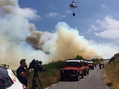 Cerveira: Incêndio em Reboreda e Nogueira dado como extinto