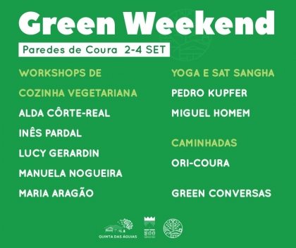 Paredes de Coura recebe 'Green Weekend' entre 2 e 4 de setembro