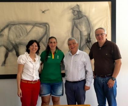 Cerveira: Executivo recebeu Inês Fernandes antes da participação nos  Paralímpicos