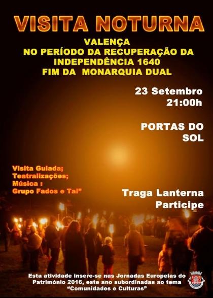 Valença: Município promove visita noturna pela cidade no próximo dia 23