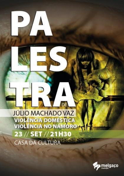 Melgaço: Casa da Cultura recebe palestra sobre violência doméstica esta sexta-feira