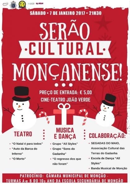 Monção: Cine Teatro João Verde acolhe «Serão Cultural Moçanense» este sábado