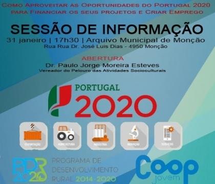 Monção: Arquivo Municipal recebe sessão informativa sobre o «Portugal 2020» esta terça-feira