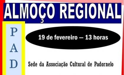 Paredes de Coura: Associação de Padornelo realiza Almoço Regional no dia 19 de fevereiro
